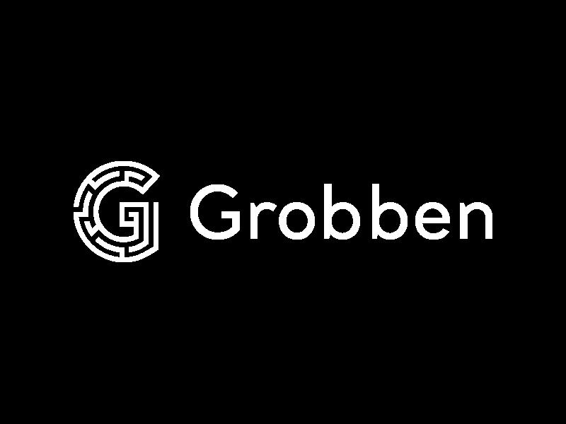 AANDAGT | Logo Grobben Bouwmanagement